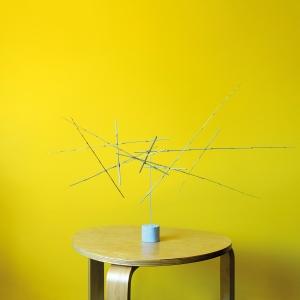 Sculpture 18 - 2020 - bambou, fil de fer - L 180 x P 100 x H 82 cm