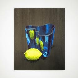 Acrylique sur carton - 29 x 36 cm